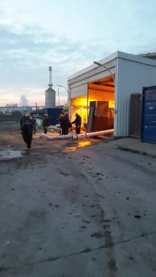 """Interconnection of  tanks in """"Oiltanking"""" at the Port of """"Varna West"""""""