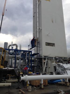 """Изграждане на инсталация за втечнени газове в """"Ер Ликид"""" гр. Търговище"""