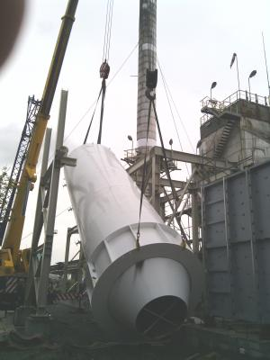 """Construction of a plant for flue gas purification in """"Lukoil Neftochim Bourgas"""" JSC"""